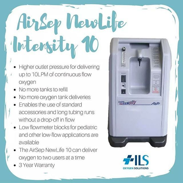 Meet the #AirSepNewLifeIntensity 10  The AirSep NewLife Intensity 10 provides you with high pressure and maximum flow from a simple floor-standing oxygen concentrator. The NewLife is able to handle the most challenging oxygen applications and is even able to accommodate two patient set-ups, which are easily achieved with this system. #OxygenSolutions http://oxygensolutions.com.au/airsep-newlife-intensity-10/