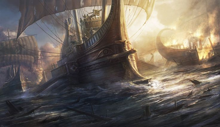 The ship is a roman commanding ship from the late period, joining the battle of Actium. The design is based on various historical books, reliefs...