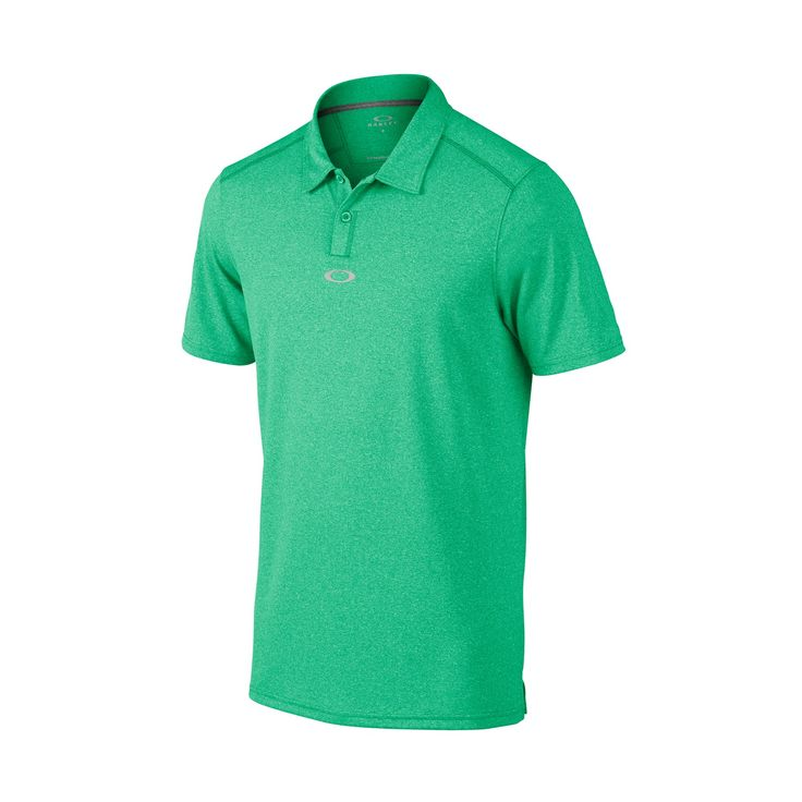 Roman Golf Polo - PARAKEET LIGHT HEATHER