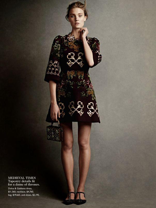 Constance Jablonski By Christian MacDonald For Vogue