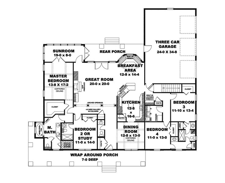 Floor Plan For My Dream Hous