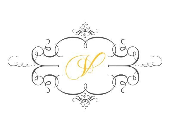 Print: Fancy Custom Free Printable Wedding Monogram