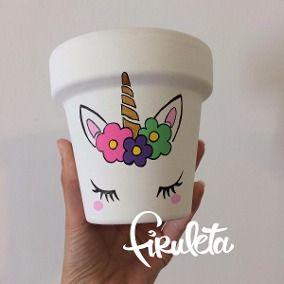 Resultado de imagen para macetas pintadas a mano con exclusivos diseños
