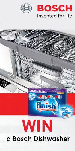 Win a Bosch Dishwasher