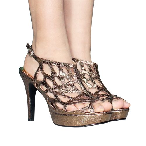 Sepatu Booties Stiletto Bronze - http://www.slightshop.com/produk/sepatu-booties-stiletto-bronze/