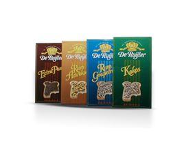 De Ruijter Specials 1990: Extra Puur, Rum Advocaat, Rum Grapefruit en Kokos.