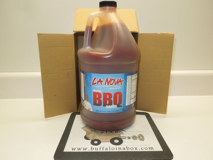 La Nova Wings -Barbecue Sauce (Gallon) Plastic