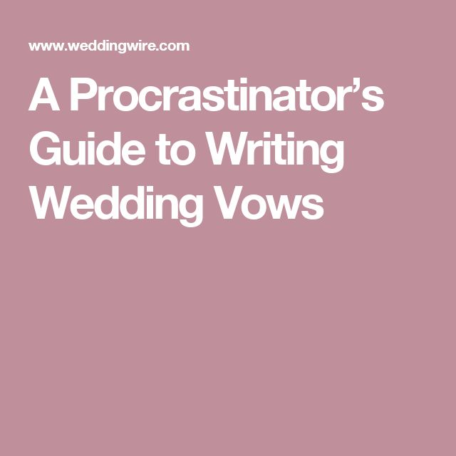 Top 25+ Best Writing Wedding Vows Ideas On Pinterest