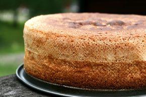 Tårtbotten recept, sockerkaka