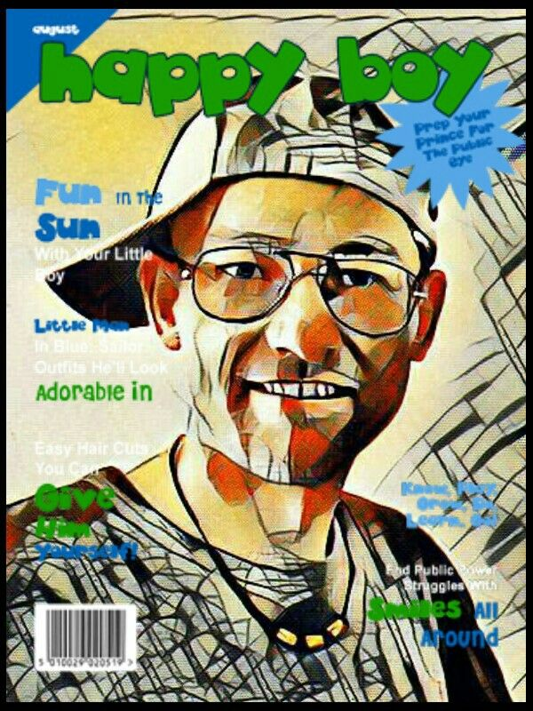 Návrh obálky časopisu / Draft magazine cover