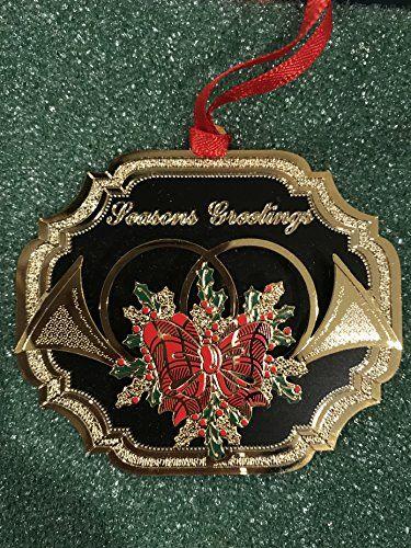 Baldwin brass french horn ornament - Baldwin Brass French Horn Ornament Christmas Decor Ornaments