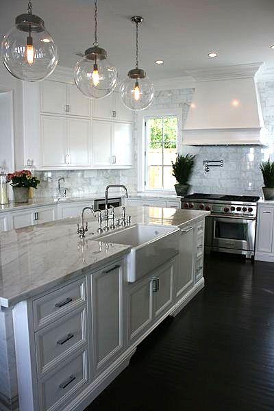 Kitchen ~ #kitchens, #interiors, #whitekitchens, Bristol | Brooke Wagner Design