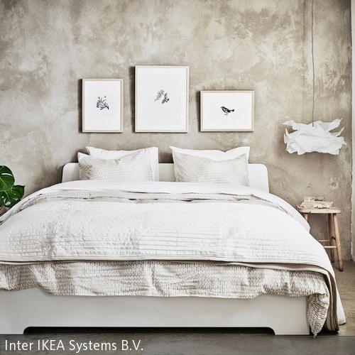 doppelbett in szene setzen - Niedliche Noble Schlafzimmerideen