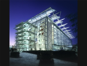 Nicolas Grimshaw, British Pavilion. 1992 Seville Expo.