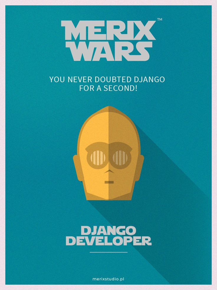 Our recruitment campaign based on #starwars Join our team as #C3PO #django http://www.merixstudio.com/wars/