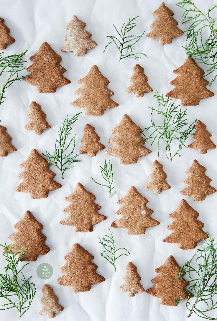Gluten-free vegan gingerbread cookies / wegańskie pierniki bezglutenowe