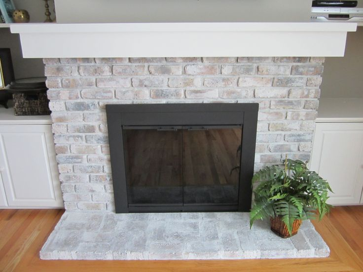 Is your fireplace looking outdated because of its old, brass fireplace doors? If you've got about $10.00 to spare, you can update them with a can of heat-resistant spray paint. Here's a…