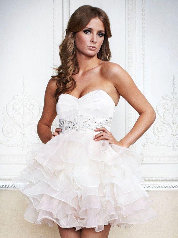Caroline-Vestido de Coquetel em organza - dresseshop.pt