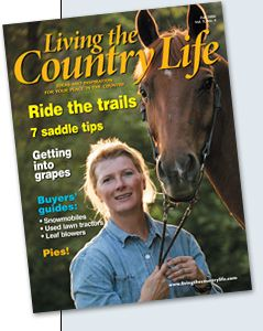 Free three-year subscription to Living the Country Life magazine