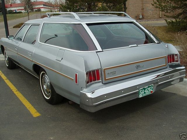 1976 Chevrolet Impala Wagon Took my driving test in one of these..