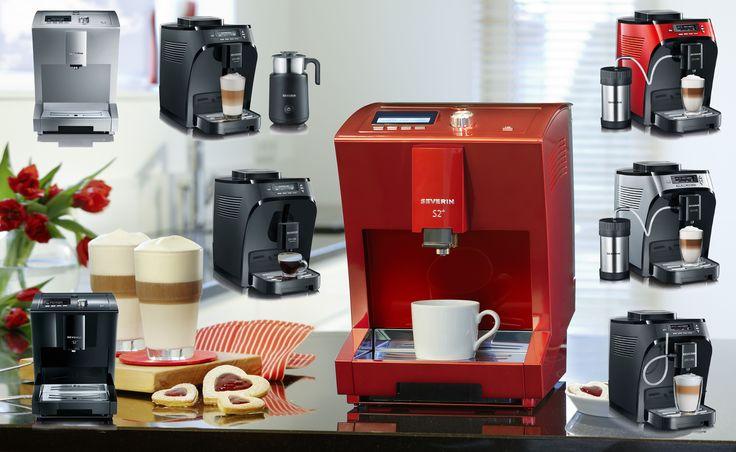 Todas nuestras Cafeteras Superautomáticas  http://www.severin.com/es/cafe/cafeteras-automaticas