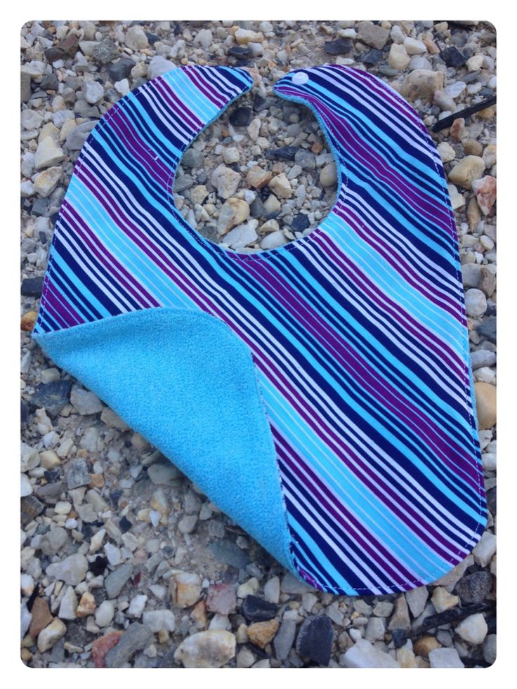 Blue/Purple Stripes. Cotton Front and Back. $3 1 in Stock.