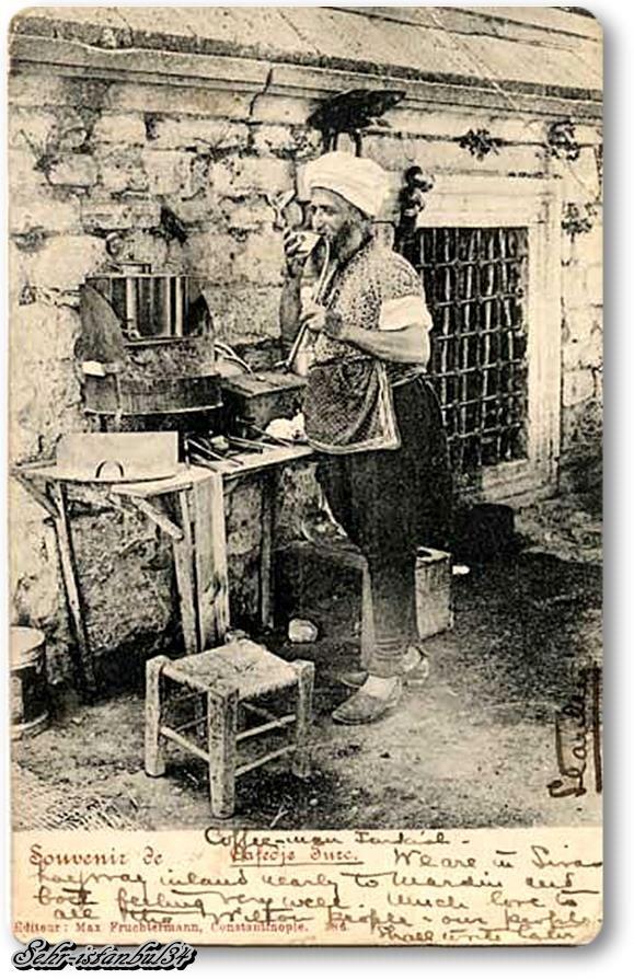 Seyyar Kahveci 1900'ler