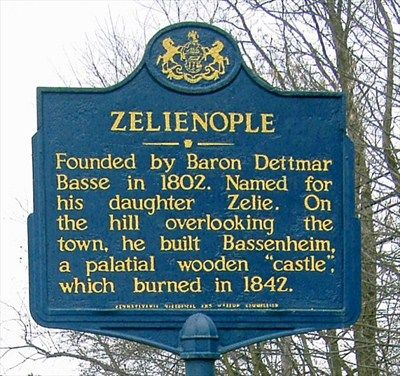 Zelienople PA Pa Historical Markers Cover The State And Give Great Information