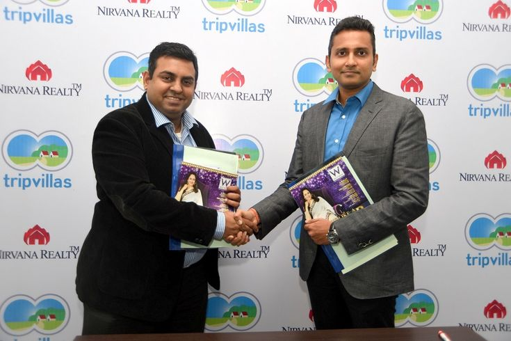#NirvanaRealty Partners with Singapore Based #HolidayHome Rental Venture #TripVillas.com