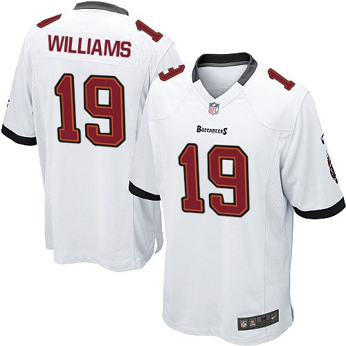 6d269bf26 ... Men Nike Tampa Bay Buccaneers 19 Mike Williams Limited White NFL Jersey  Sale Cowboys Dak ...