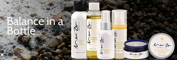 Mei Zen Cosmetics - Balance in a Bottle..  These are high quality, unique line of products that were natural, active, and results-oriented, as well as rooted in the tradition of Chinese medicine. http://www.meizencosmetics.com/about-us/