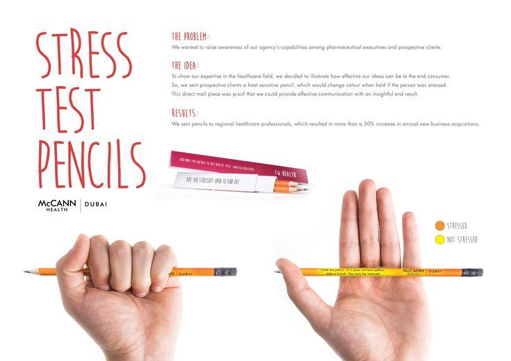 Stress Test Pencils - Todos nós precisamos de um!