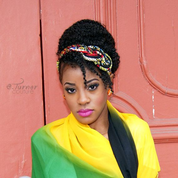 African Headband  Ankara Headband  African Wax by ETurnerCouture