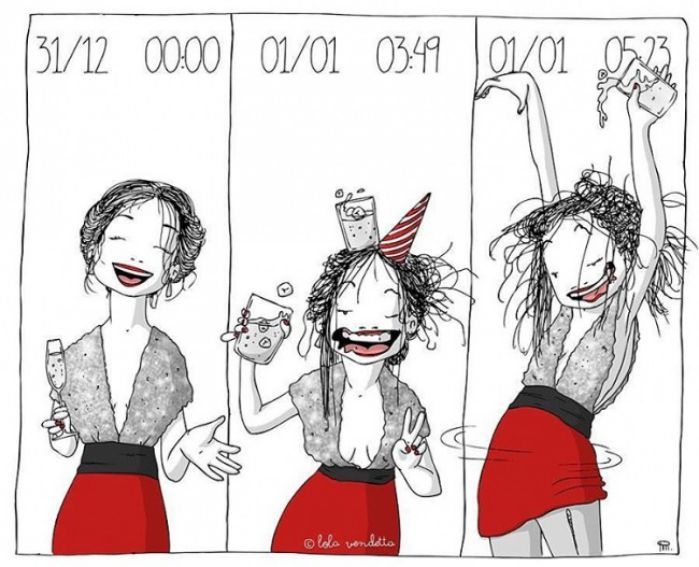 17 Cómics que describen a la perfección a las mujeres con mucha actitud