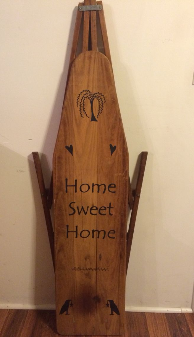 10+ images about ★ Wooden Ironing Boards ★ on Pinterest ...