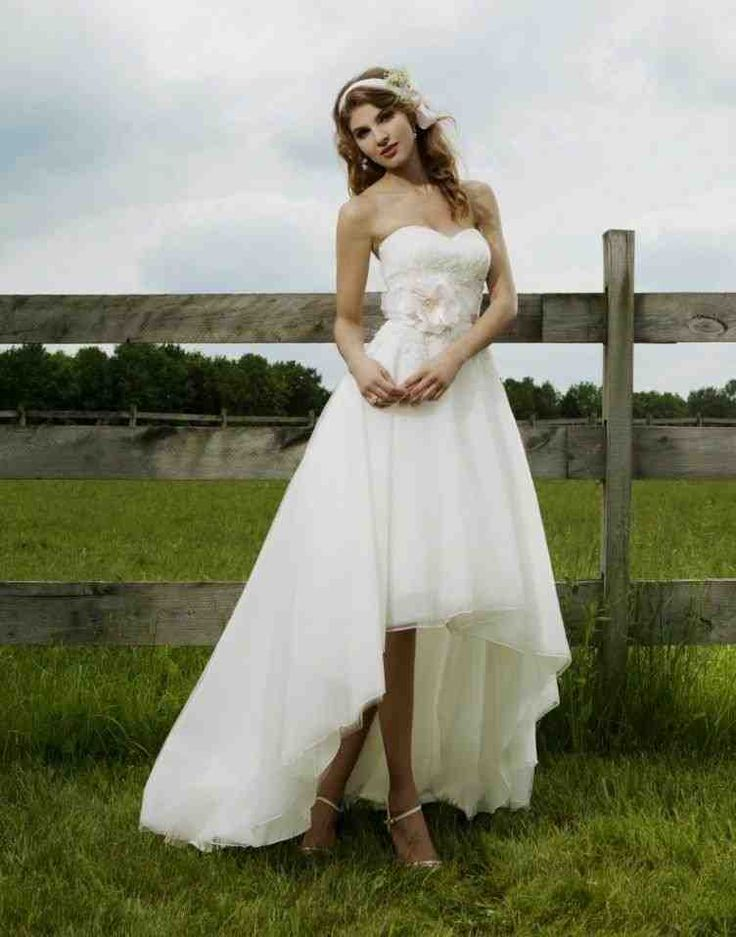 Country Outdoor Wedding Dresses