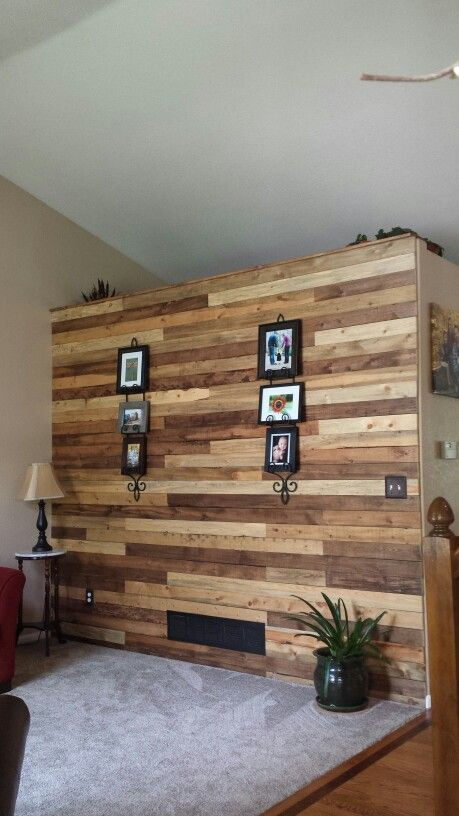 Beetle Kill Pine Accent Wall Home Accent Walls In