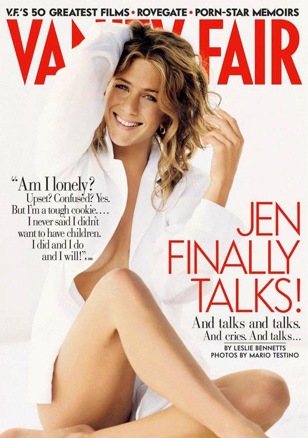 Vanity Fair, September 2005 from Jennifer Aniston's Best Magazine Covers | E! Online