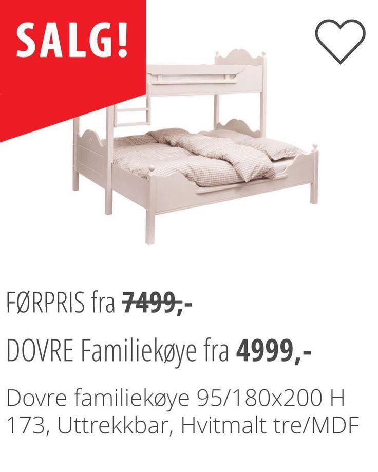 D O V R E   Denne uttrekkbare familiekøyen er like flott og praktisk hjemme som på hytta! Fra enkeltseng til dobbeltseng på 1-2-3! Kommer i svart og hvit farge og er på tilbud denne uken!! #bohus #bohusodda #bohusinteriør #decor #design #dovre #familiekøye #furniture #hjem #home #hytte #inspo #interior #interiør #inspiration #norskehjem #nordiskehjem #odda #room #skandinaviskehjem #soverom by bohusodda