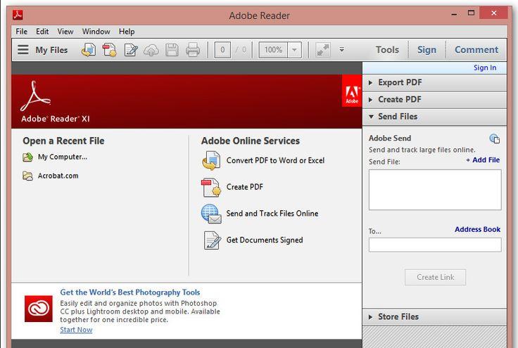 Adobe reader free download readers