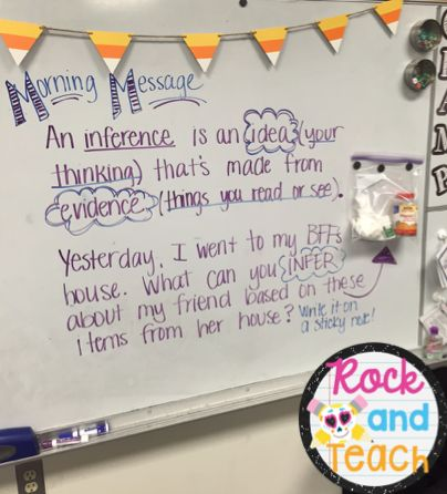 Thinking Deep with Inferencing A step by step guide for teaching inference for…