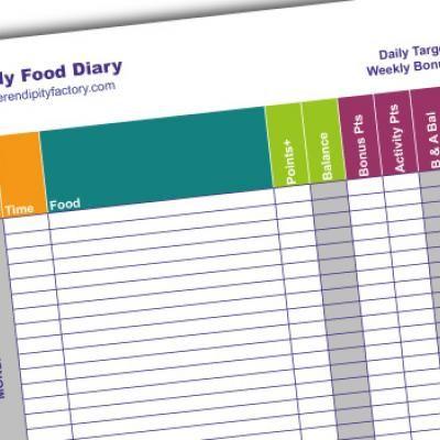 Weekly Food Diary (Free Printable)
