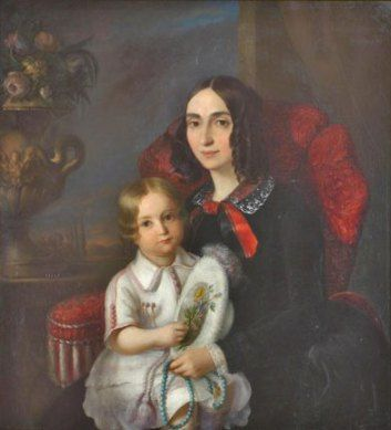 Constantin Daniel Rosenthal - Anica Manu cu copilul