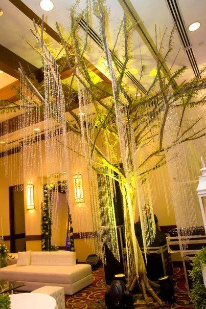 hotel decor - Beaded Inset Hotel Decoration