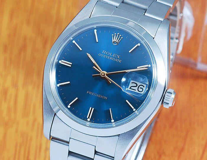 Catawiki online auction house: Rolex 6694 Oysterdate Precision Vintage Men's Watch!