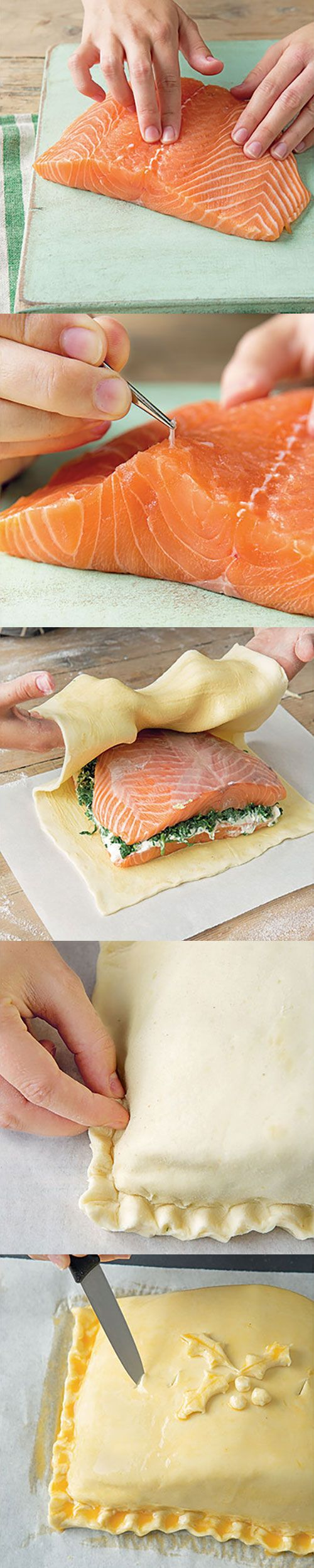 How to make salmon en croûte. A show stopper that can be stress and fuss free once you know the knack!
