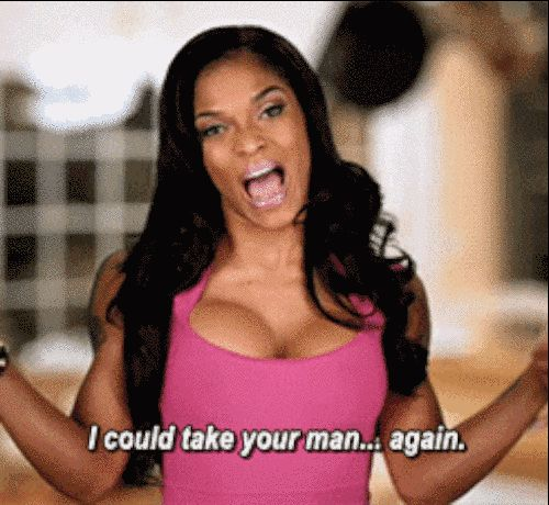 When you see your ex's ex.   19 Times Joseline Hernandez Said What You Were Secretly Thinking
