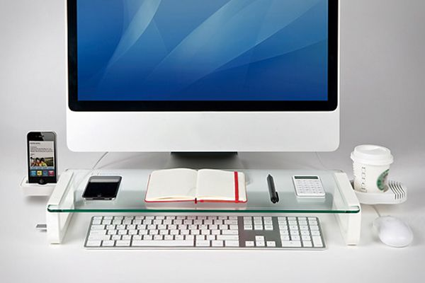 Keep Your Desk Organized With The U-board