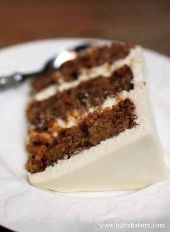 Carrot Cake - Lolita Bakery - Barcelona #carrot  #carrotcake #creamcheese  #lolitabakery