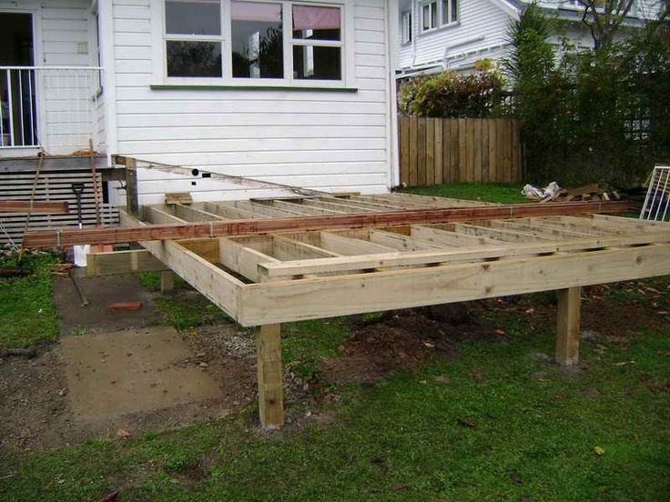 Renovation build deck design for Steps to building a house yourself